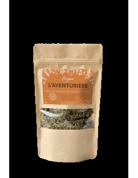 paquet l'aventurière, mélange de plantes pour substitut de tabac.