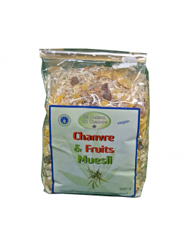 MUESLI AU CHANVRE ET FRUITS