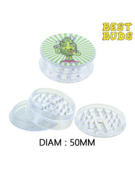 GRINDER PLASTIC BEST BUDS 50mm