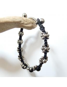 Bracelets Rhodium
